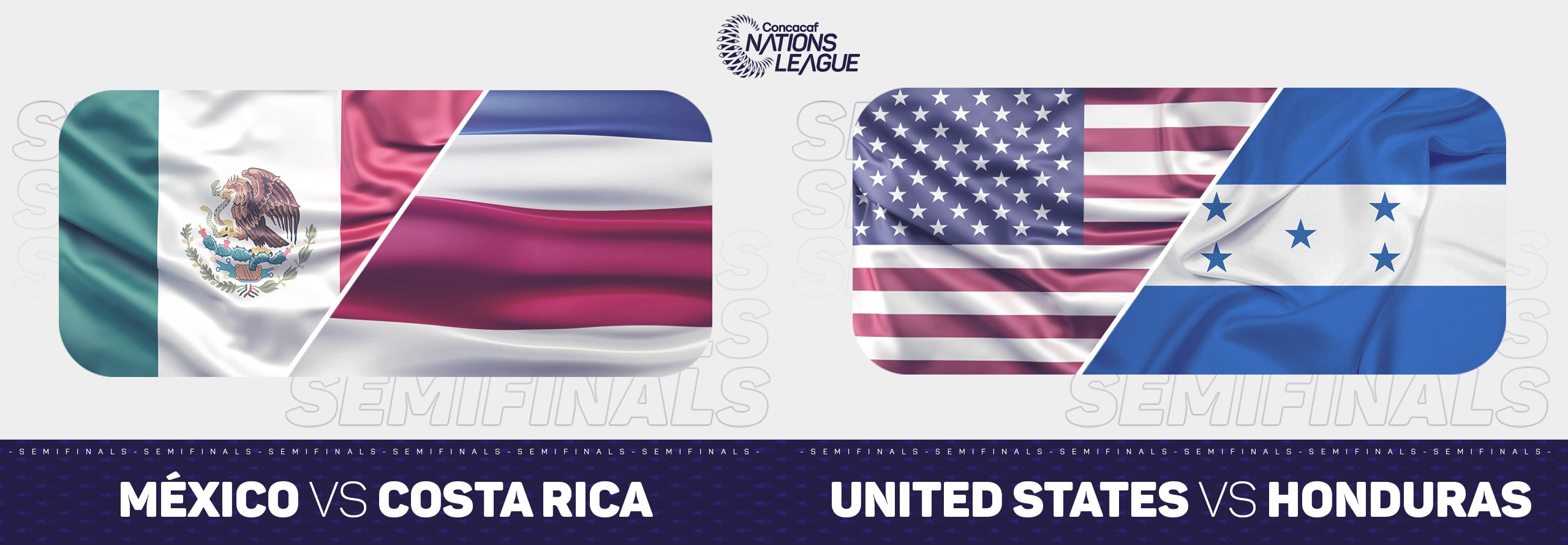 Concacaf Nations League Semifinals