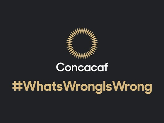 More Info for Concacaf launches #WhatsWrongIsWrong anti-discrimination campaign