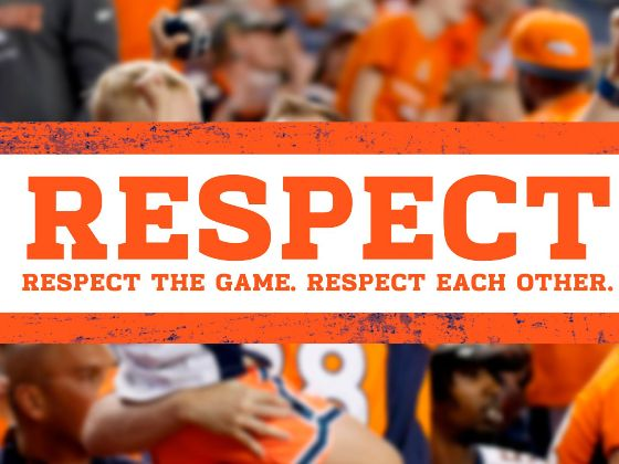 Respect. Respect the Game. Respect Each Other.
