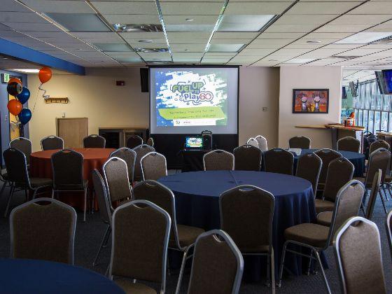 Party Suite table setup spotlight