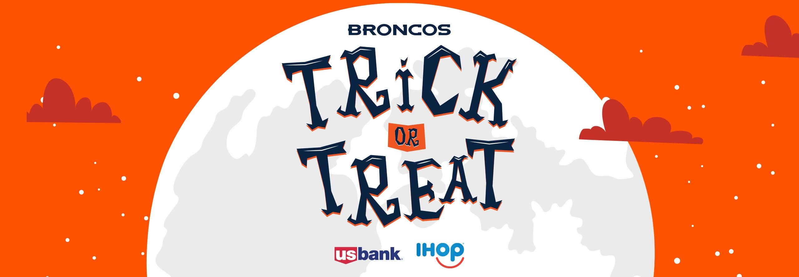 Broncos Trick-or-Treat